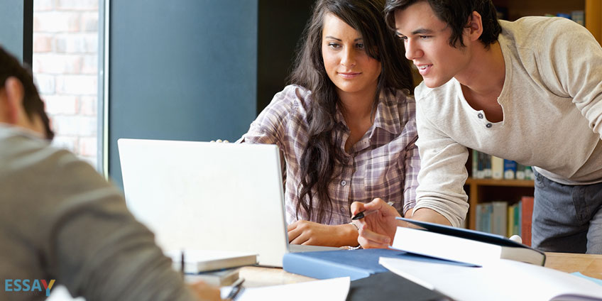 Students Study